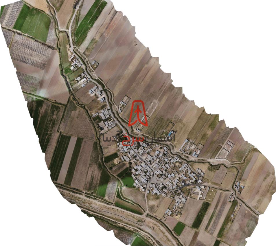 زمینهای کشاورزی اطراف شهر خلجوی