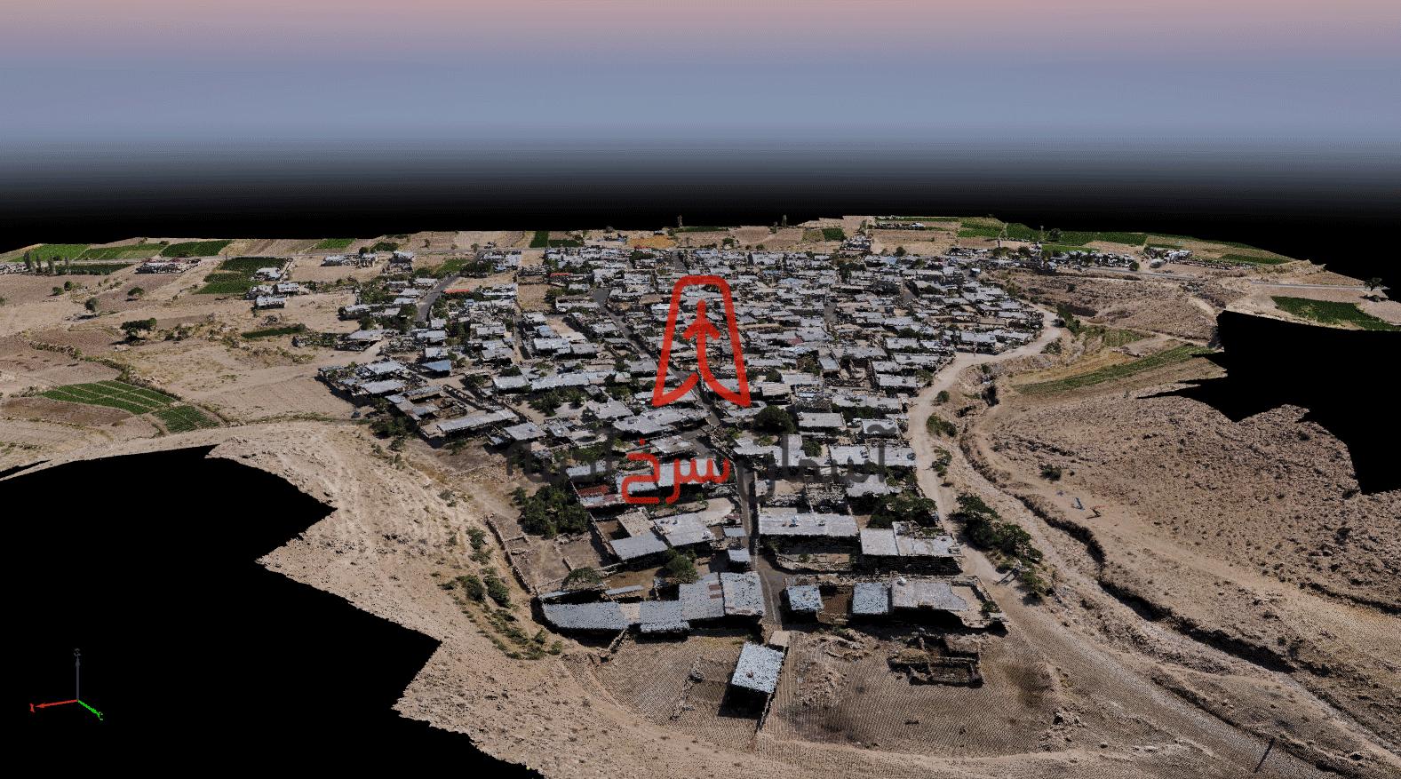 نقشه سه بعدی - نقشه برداری هوایی با پهپاد